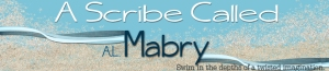 A new header for my writing partner and bff, AL Mabry